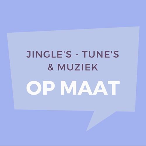 jingle's tune's en rechtenvrijemuziek op maat