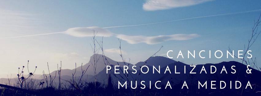 canciones personalizadas, regalo personal