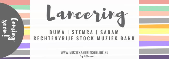 rechtenvrije muziek lancering coming soon