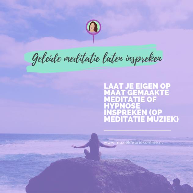 meditatie laten inspreken