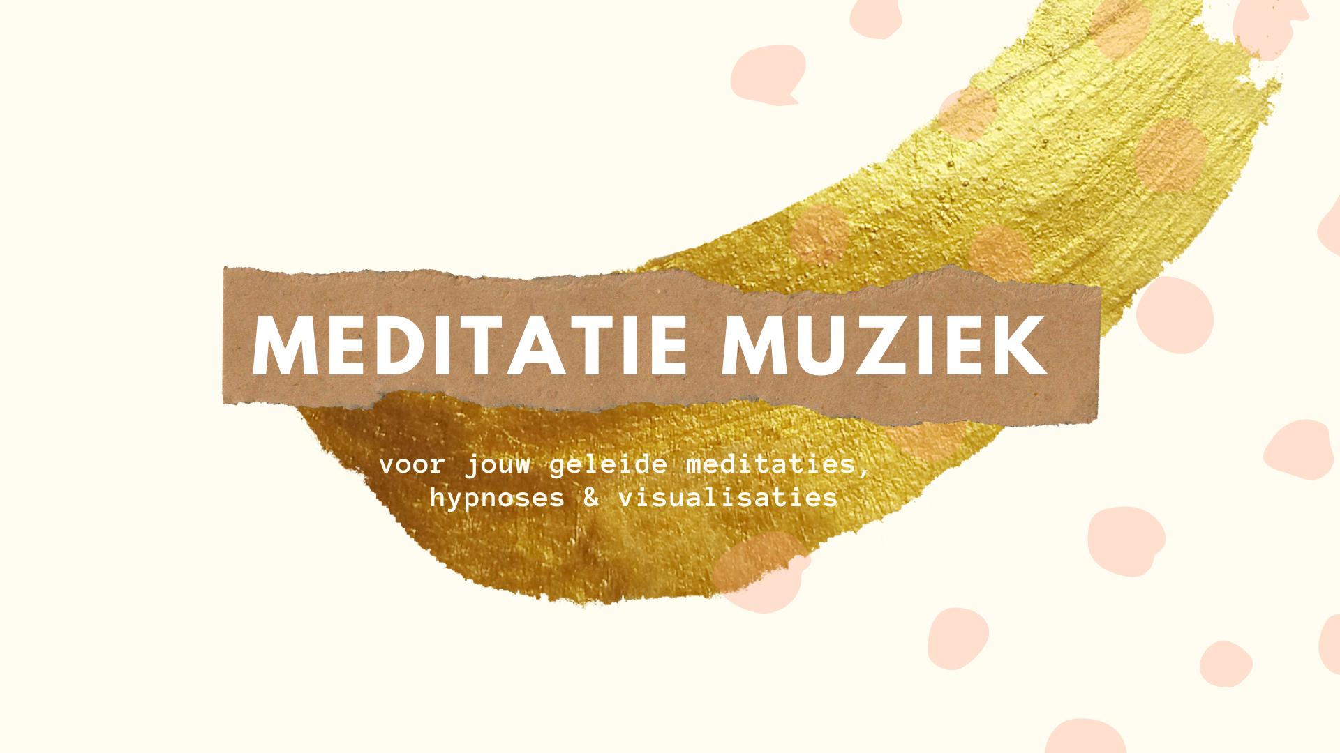meditatie muziek voor geleide hypnoses en meditaties